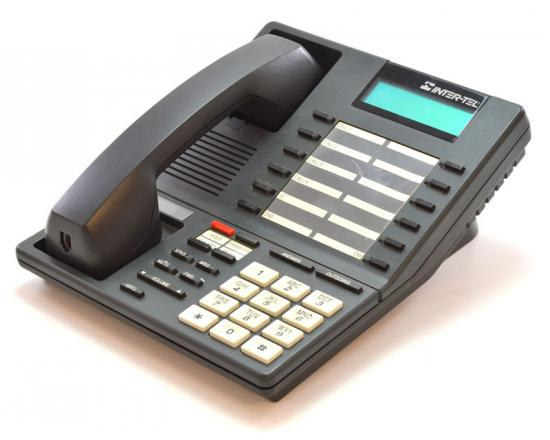 Inter-tel Axxess 550.4000 Charcoal Standard Display Speakerphone