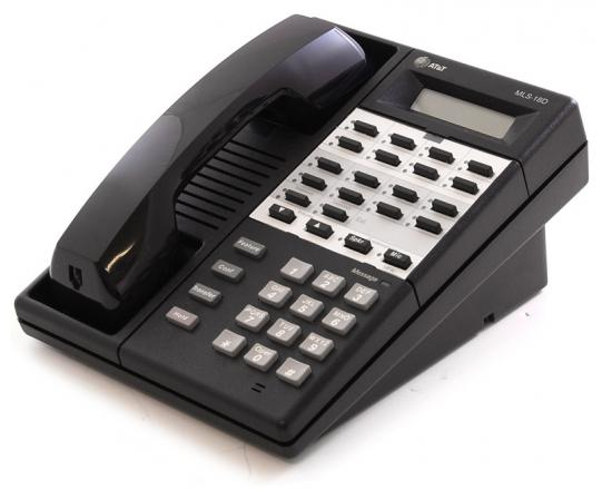 Avaya MLS-18D Black Display Phone