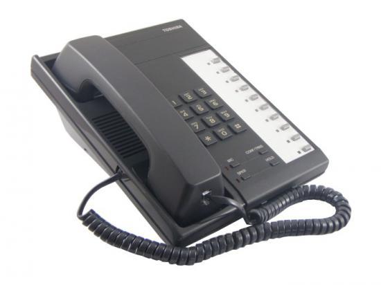 Toshiba EKT6510-H Charcoal Analog Speakerphone - Grade B