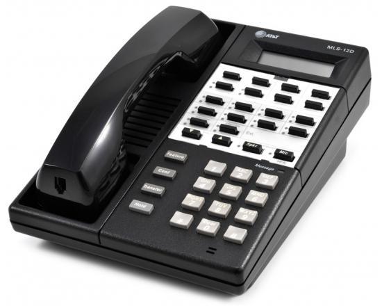 Avaya MLS-12D Black Digital Display Speakerphone - Grade A