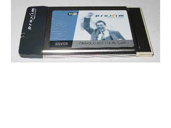 Proxim Orinoco 802.11b PCMCIA Card Silver Wi-Fi
