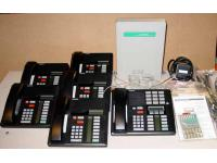 Nortel Norstar 3x8 Phone System w/Caller ID & 6 Phones