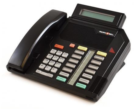 Nortel Meridian M5316 Black Display Phone (NT4X42)