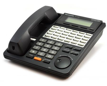 "Panasonic Digital Super Hybrid KX-T7453 24-Button Black Backlit Display Speakerphone ""Grade B"""