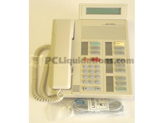 Nortel Meridian M5312 NT4X37EB Ash Display Phone Norstar