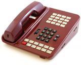 Vodavi Starplus SP61612-60 Burgundy Enhanced Key Phone