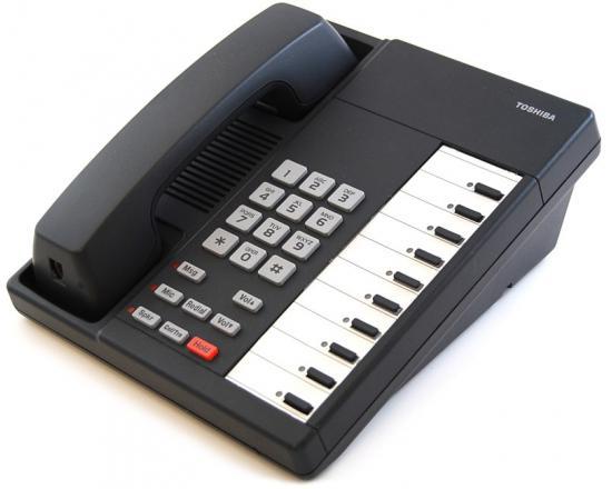 Toshiba Strata DKT2010-S 10-Button Charcoal Speakerphone