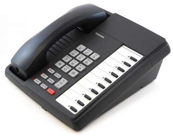 Toshiba Strata DKT3010-S 10-Button Charcoal Speakerphone