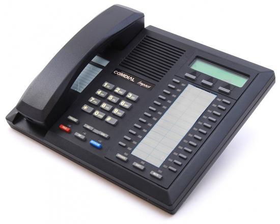 Comdial Impact 8024S-GT Black Display Speakerphone - Refurbished