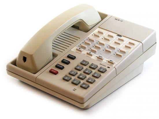 Avaya MLS-12 White Analog Speakerphone - Grade A