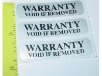 PCL Security Label / Warranty Void Label 100 per pack