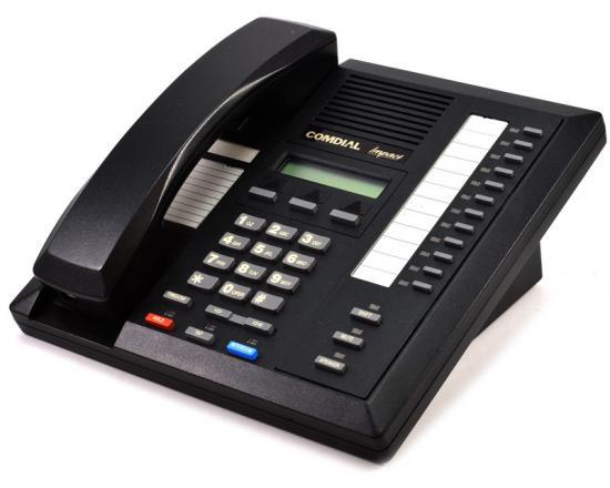 Comdial Impact 8012S-GT Black Display Analog Speakerphone (80125S) - Grade B