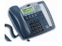 AT&T 984 16-Button Black Display Speakerphone