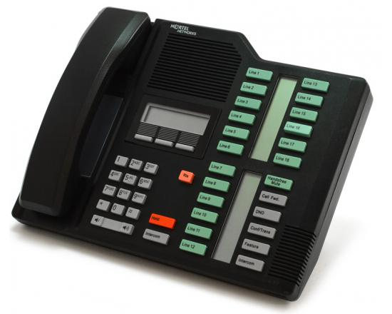 Nortel Norstar M7324 Black Receptionist Display Phone (NT8B40)