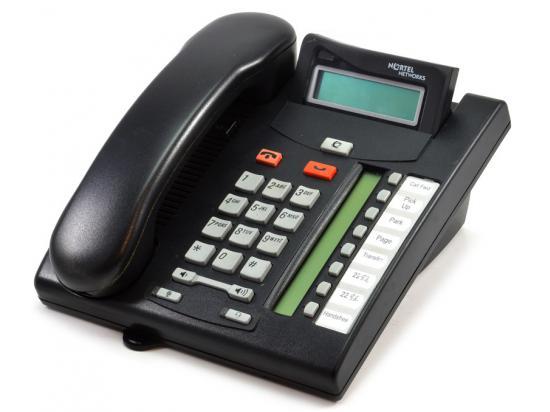 Nortel Norstar T7208 Charcoal LCD Display Speakerphone (NT8B26)