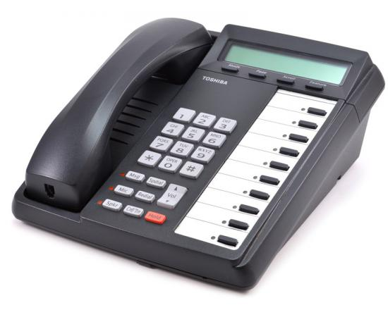 Toshiba DKT3010-SD 10-Button Charcoal Display Speakerphone