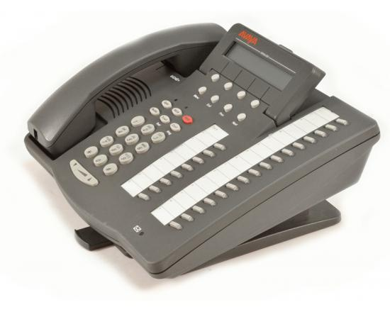 Avaya 6424D+ 24-Button Grey IP Display Speakerphone - Grade A