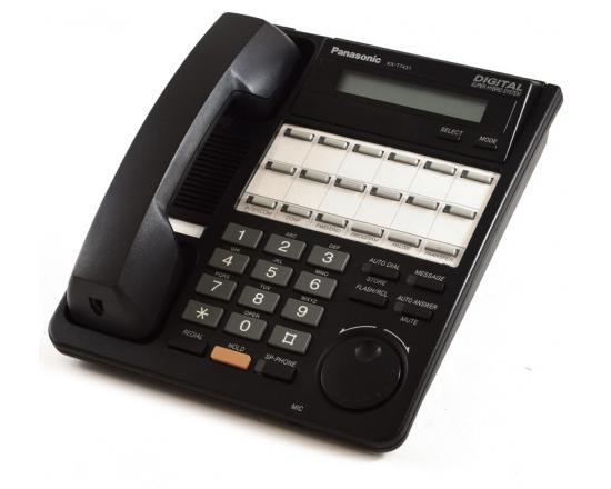 Panasonic Digital Super Hybrid KX-T7431 Black Display Speakerphone