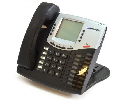 Inter-tel  Axxess 550.8662P Black IP Large Display Phone - Mitel Branded