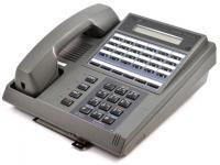 Iwatsu Omega-Phone ZT-24KTX-SP 24-Button Executive Charcoal Display Speakerphone