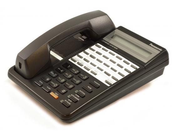 Panasonic Hybrid System KX-T7130 Black Display Speakerphone