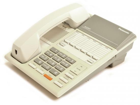 Panasonic XDP KX-T7250 White 6 Button Digital Phone - Grade A