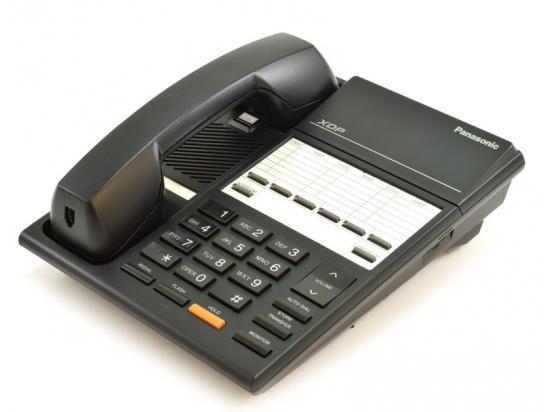 Panasonic XDP KX-T7250 Black 6 Button Digital Phone - Grade A