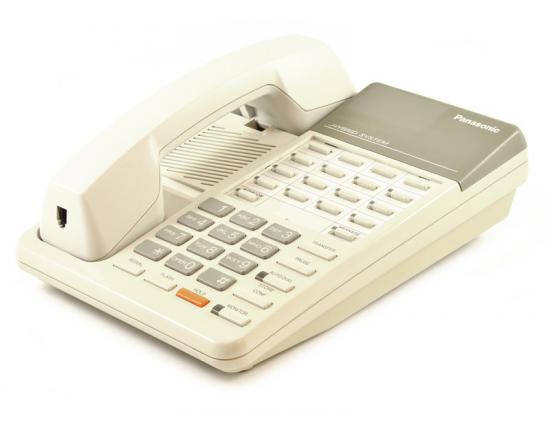 Panasonic Hybrid System KX-T7050 White 12 Button Telephone