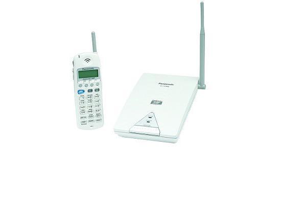 Panasonic KX-TD7895 900Mhz Cordless Phone WHITE