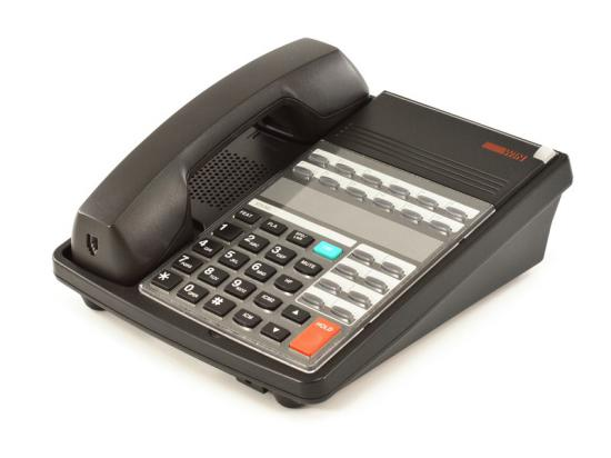 WIN 440CT 20S-Tel 20-Button Black Analog Speakerphone - Grade A