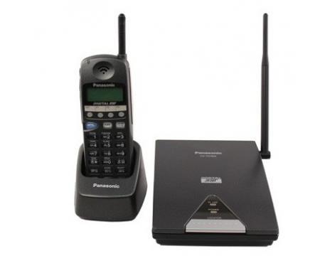 Panasonic KX TD7895 900Mhz Cordless Phone BLACK