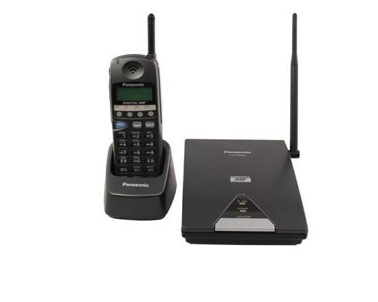 Panasonic KX-TD7895 900Mhz Cordless Phone BLACK