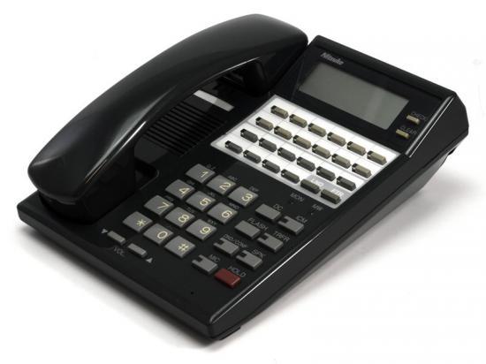 NEC 22 Button HF Display Telephone Black (82473)