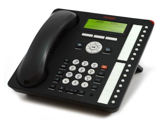 Avaya 1616-I 16-Button Black IP Display Speakerphone