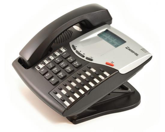 "Inter-tel Axxess 550.8620 Black IP Display Speakerphone ""Grade B"""