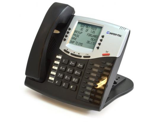Inter-Tel Axxess 550.8662 Black IP Display Phone - Grade B