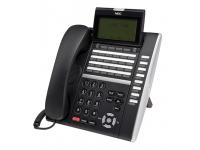 NEC DT830 ITZ-32DG-3 32-Button Black Gigabit IP Display Speakerphone - Grade A