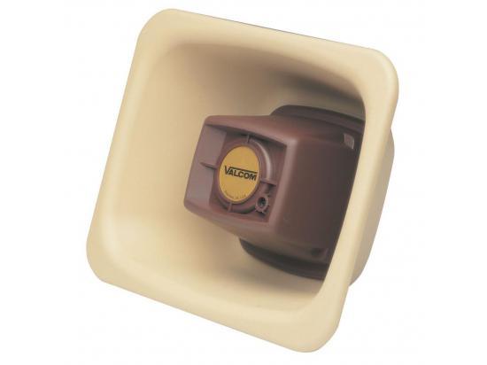 VALCOM 3 Watt 1-Way FlexHorn Paging Speaker - Beige