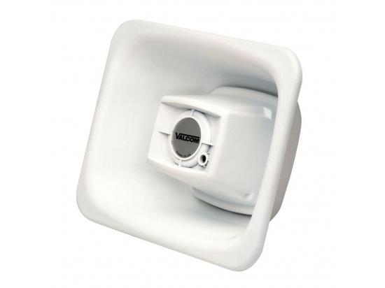 VALCOM 3 Watt 1-Way FlexHorn Paging Speaker - White