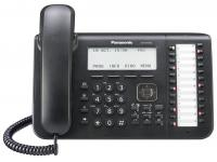 Panasonic KX-DT546-B 24-Button Black LCD Digital Phone