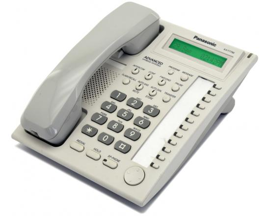 Panasonic KX-T7730 White 12-Button Single Line Digital Speakerphone (KX-T7730W)