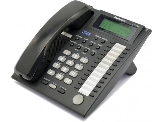 Panasonic KX-T7737-B 24-Button Black Digital Speakerphone