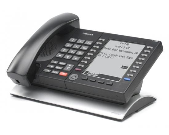 Toshiba Strata IP5631-SDL 20-Button Large Backlit Display IP Phone