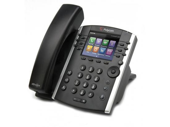 Polycom VVX 400 Black IP Display Speakerphone
