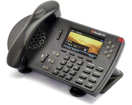 ShoreTel 560 S6 Black IP Display Speakerphone - Grade B