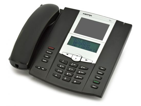 Aastra 6751i Black IP Display Base SpeakerPhone - Grade A
