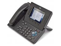 Cisco CP-8961 Black 12-Button Gigabit IP Color Display Phone - Grade B