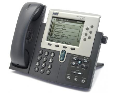 CP-7961G Cisco 7961G IP VoIP Phone Telephone