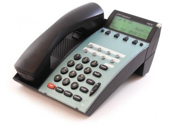 NEC Dterm Series E DTP-8D-1 8-Button Black Display Speakerphone (590021)