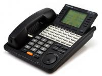 "Panasonic Digital Super Hybrid KX-T7456-B Black 6-Line Display Speakerphone ""Grade B"""